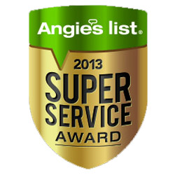 The Floor Mart is a proud recipient of the 2013 Angie's List Super Service Award